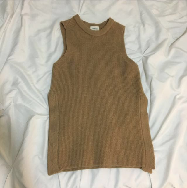 Aritzia Wilfred Palmier Top