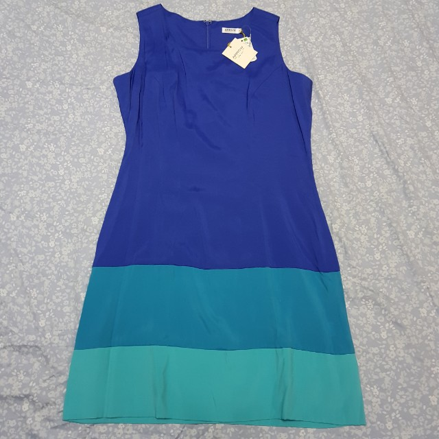 Arrow blue short casual or office dress