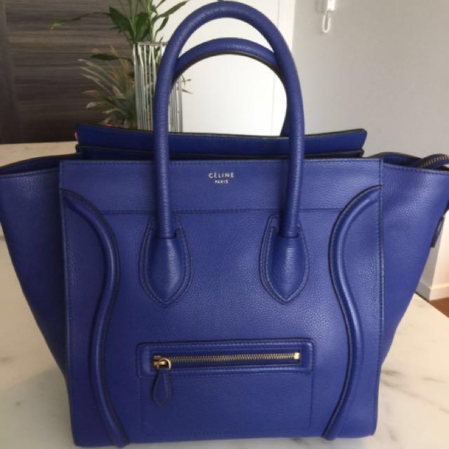 Authentic Celine Mini Luggage