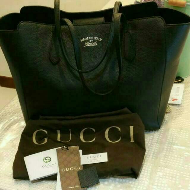 a05792e1e481 Authentic Gucci Swing Tote (Medium), Women's Fashion, Bags & Wallets ...