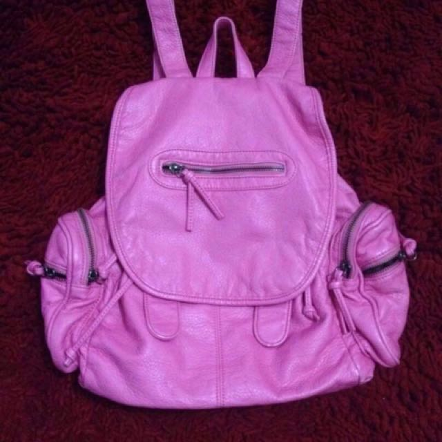 Backpack NEON Shocking PINK