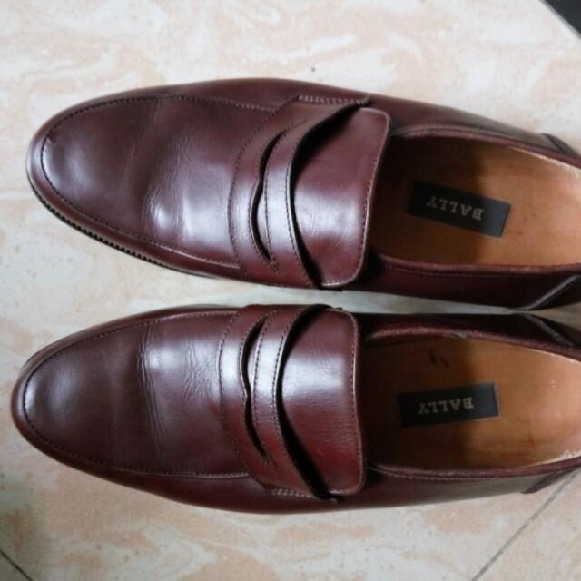 Bally 42号半 男士  真皮 皮鞋 英國 绅士鞋 英倫風 復古 意大利製造 HK700