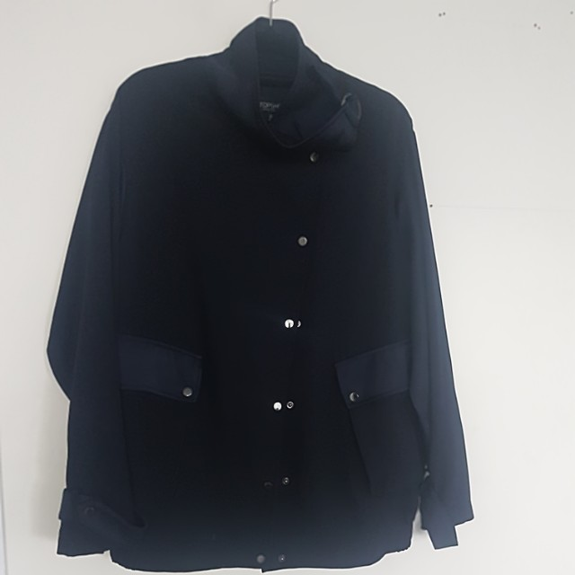 Beautiful dark blue jacket Topshop size 40