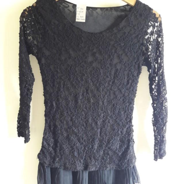 Black Dress Tutu
