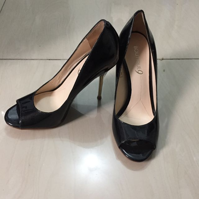 Boutique 9 Black Shoes