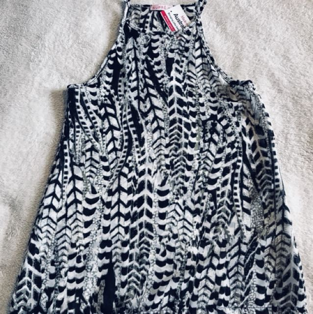Brand new supre animal print top size 3xs