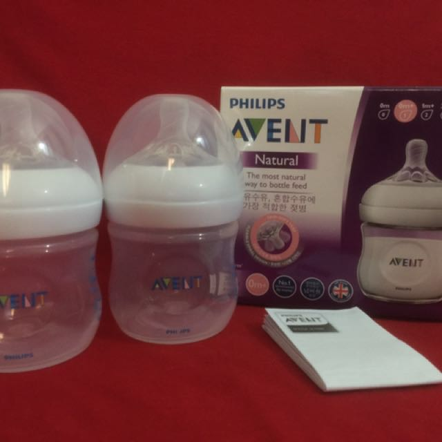 Brandnew Avent Natural 4oz clear