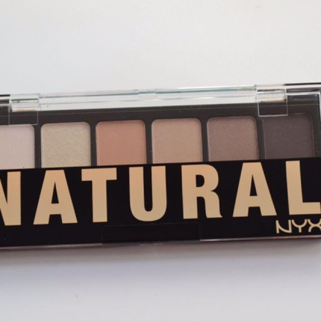 Brandnew NYX Natural Palette Eyeshadow