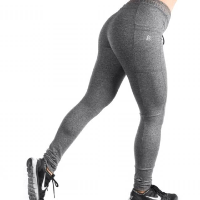 Built Apparel Grey Marble Jogger Tights BRAND NEW Size S