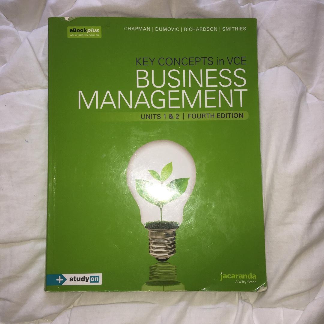 Business Management 1/2 Textbook