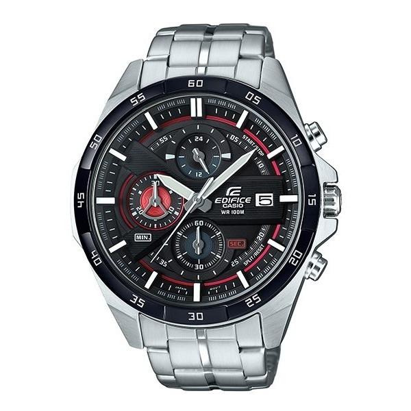 CASIO 卡西歐 EDIFICE 極速轉盤時尚不鏽鋼賽車錶/EFR-556DB-1A/原廠公司貨