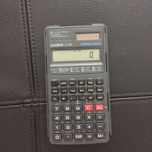 Casio Scientific Calculator Fx-901