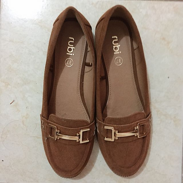 CottonOn Rubi Shoes in Tan, Size 37