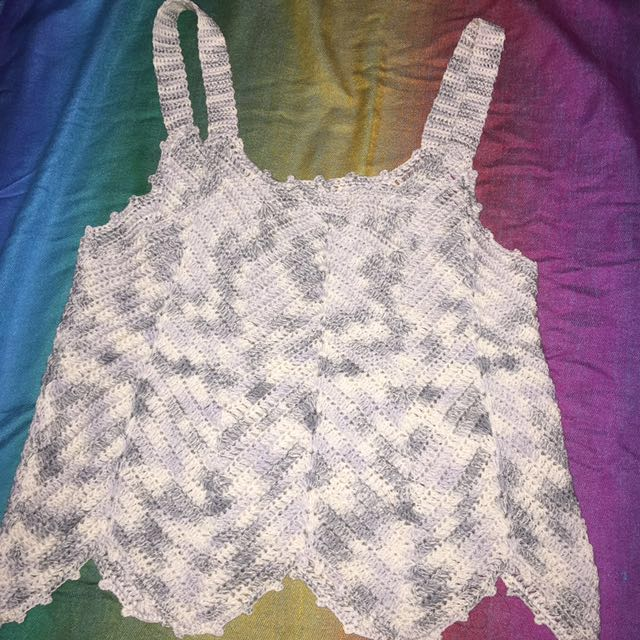 Crochet top REPRICED