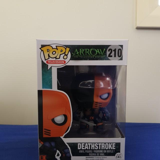 Deathstoke pop!