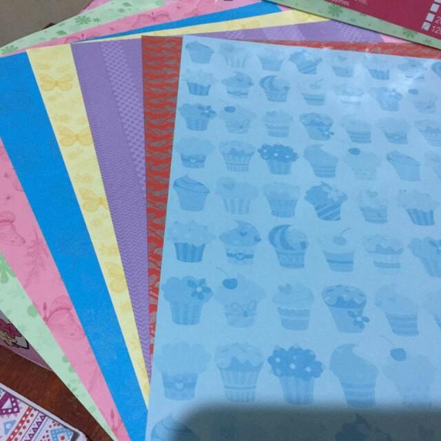 design colored bandpaper