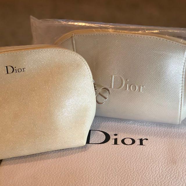 Dior 化妝品贈送包包