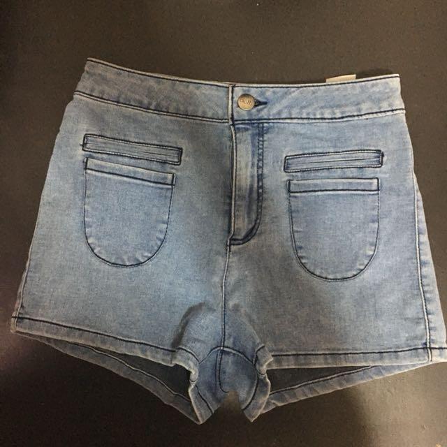 Dotti Highrise Denim Shorts