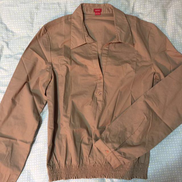 Esprit 開襟 長袖襯衫
