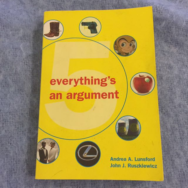 'Everything's An Argument'