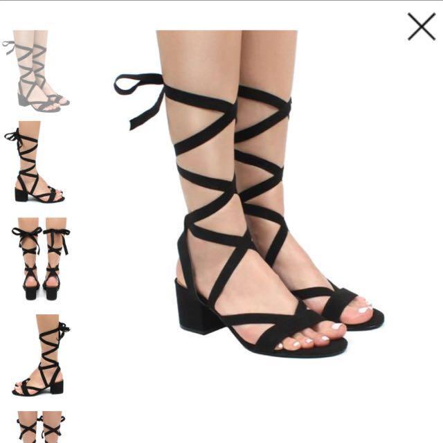Famous footwear heels
