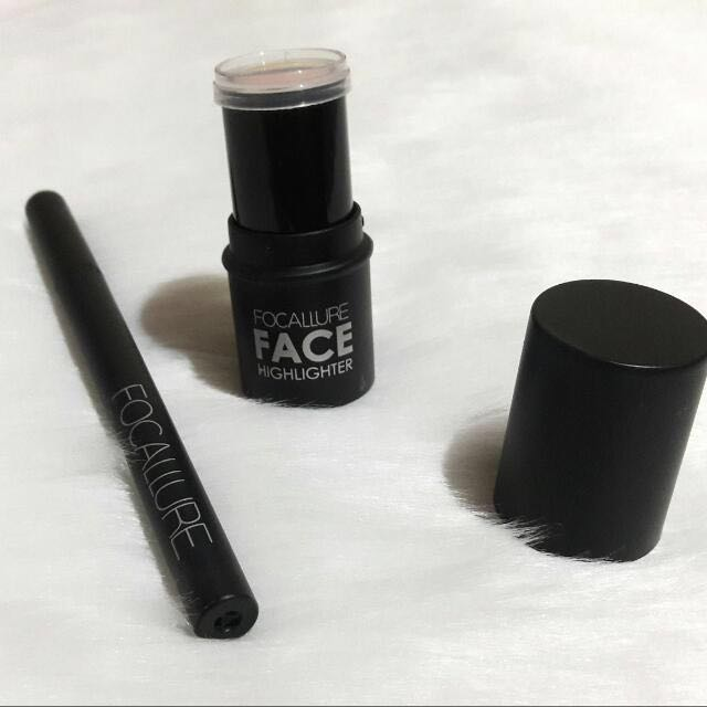 Focallure Highlighter & Eyeliner