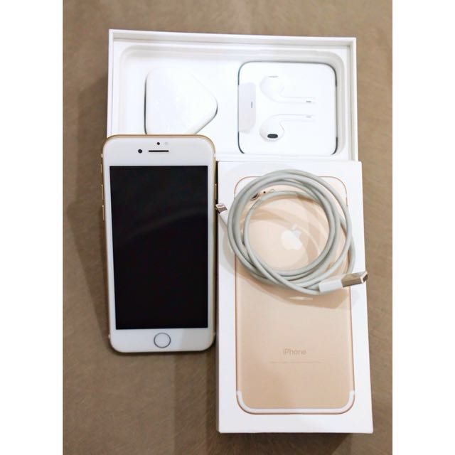 FOR SALE IPHONE 7 SECOND 32GB GOLD