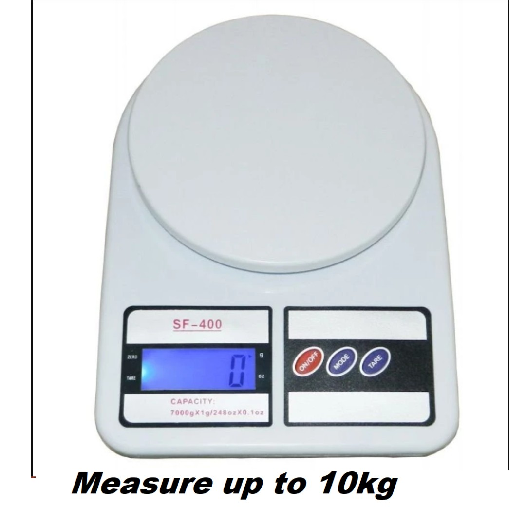 [FREE BATTERY]Electronic Kitchen Scale 10KG