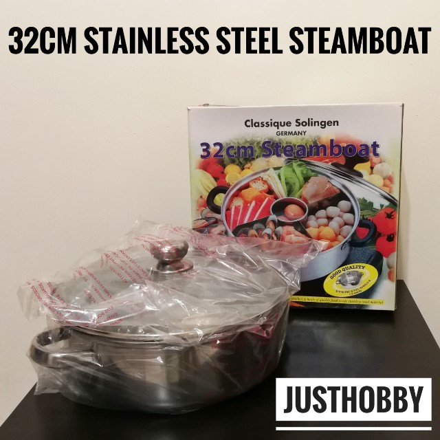 [FREE POSTAGE] Germany Stainless Steel Steamboat