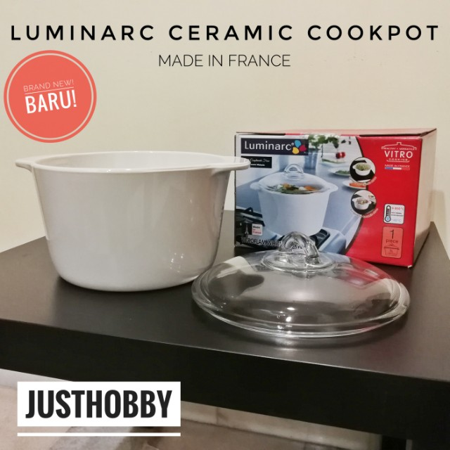 [FREE POSTAGE] LUMINARC Ceramic Cookpot
