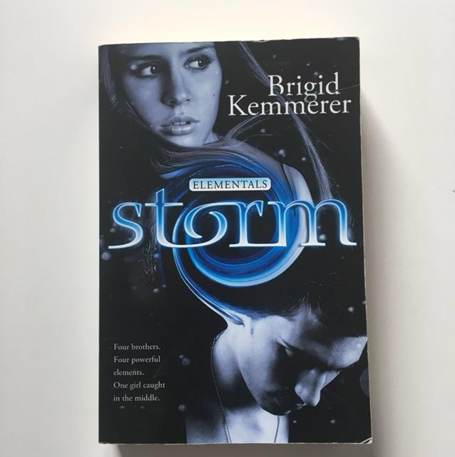 """Free with any purchase over $10 / """"Storm"""" by Brigid Kemmerer"""