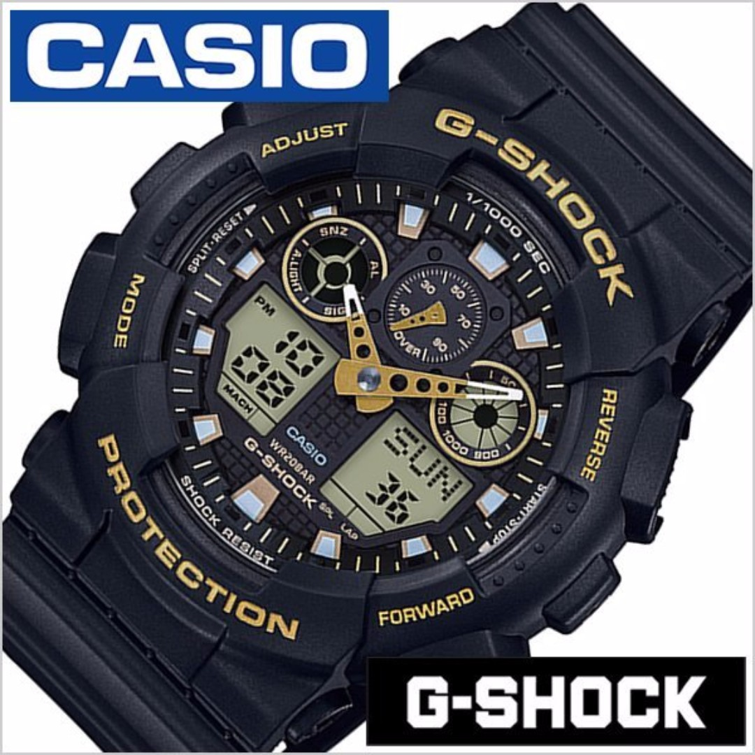 GA-100GBX-1A9 ORIGINAL G SHOCK CASIO MEN S JAM LELAKI SPORT WR200  (WARRANTY+BOX) daf9cd6b97