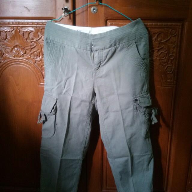 Giordano Green Cargo Pants