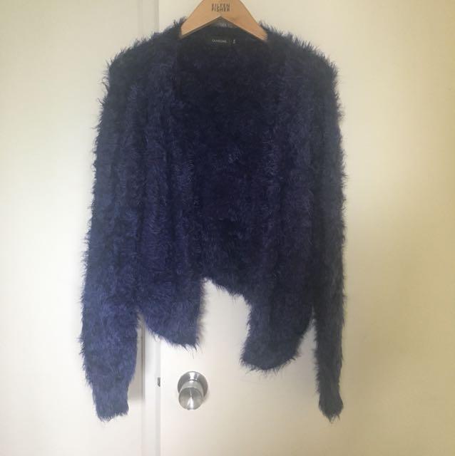 Glassons navy knit cardigan
