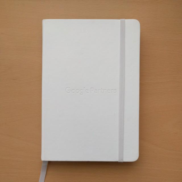 Google Partners hardbound notebook/journal