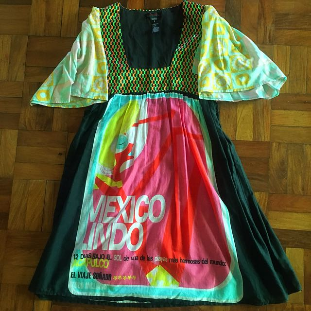 Graphic Light Dress from Spain