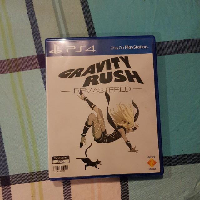 Gravity Rush Remastered PS4 BD