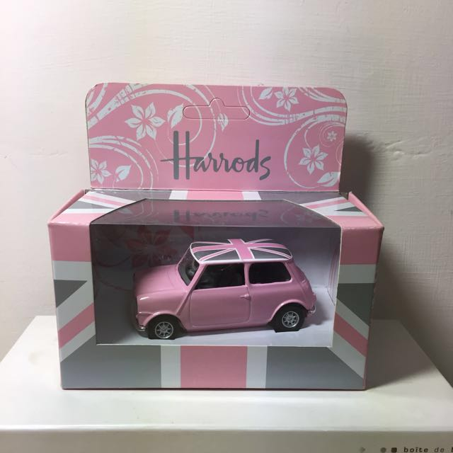Harrods mini cooper pink 粉紅色/ 模型車/ 限量
