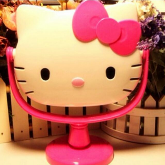 4ff9d72ac Hello kitty mirror, Furniture, Others on Carousell