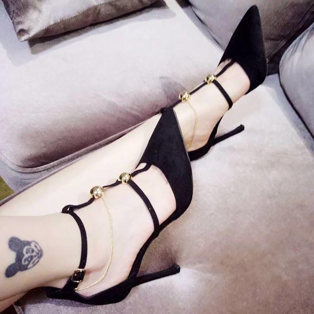 High heels size38