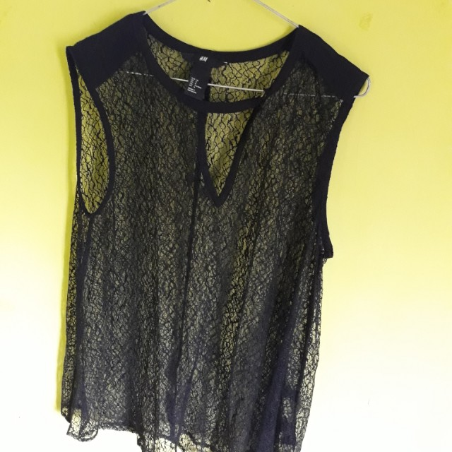 H&M blouse brukat