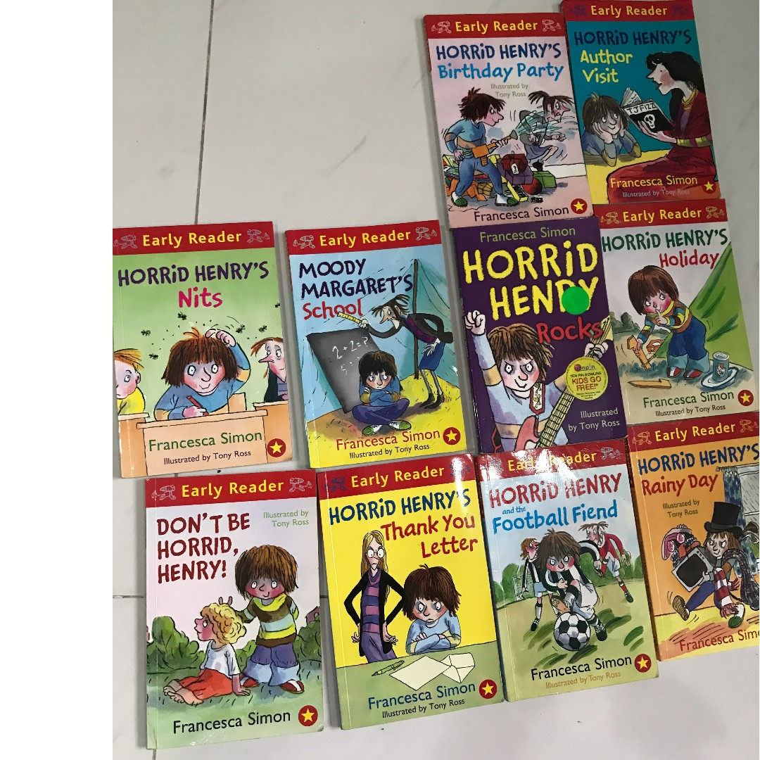 Horrid henry ten books books stationery childrens books on horrid henry ten books books stationery childrens books on carousell expocarfo