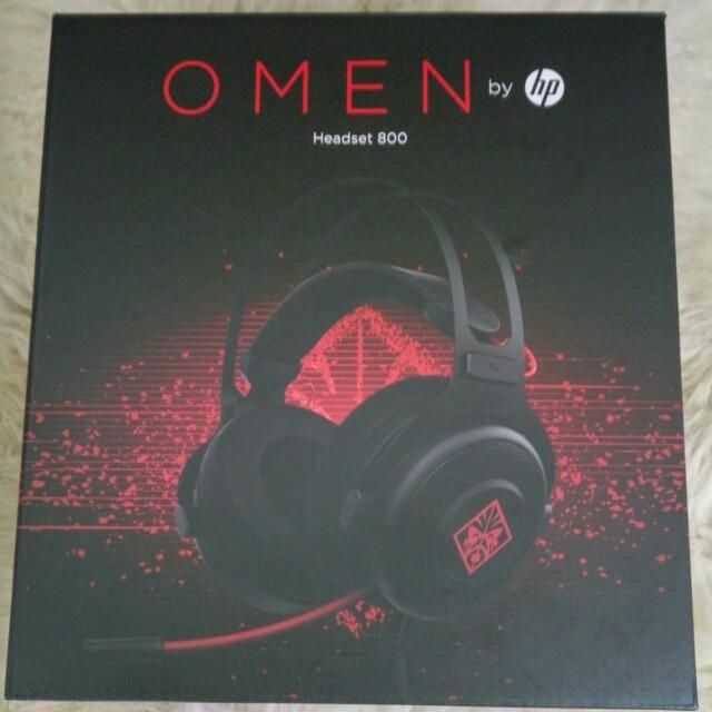 21908988d9b HP Omen Headset 800, Electronics, Audio on Carousell