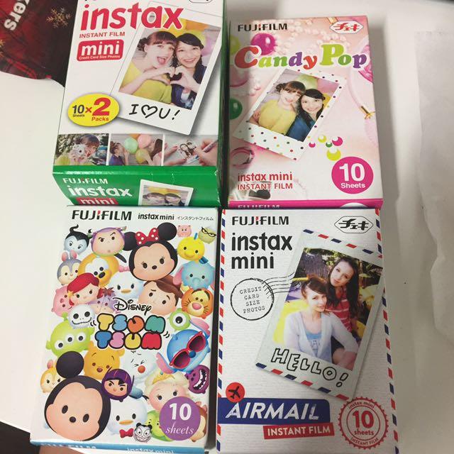 Instax mini fujifilm lots