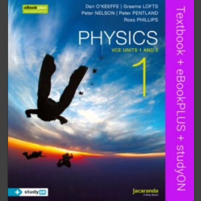 Jacaranda physics unit 1 & 2 PDF file