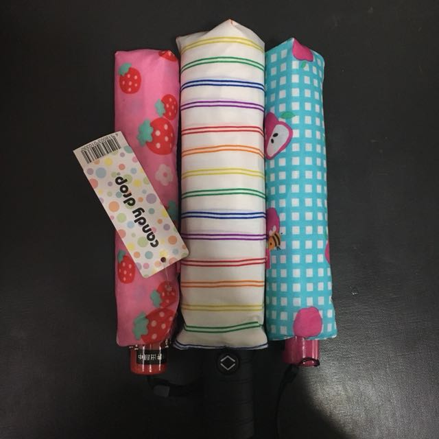 Japanese Umbrellas - 3 Pack