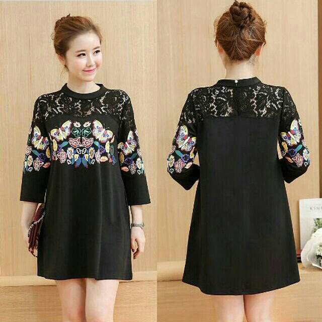 Jual Dress Pesta Midi Mini Rok Blouse Atasan Ootd Supplier Baju