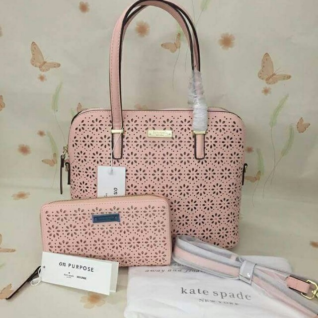 Kate Spade Perforated Bag