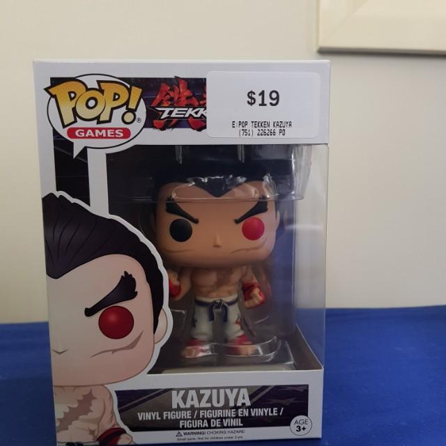 Kazuya pop!