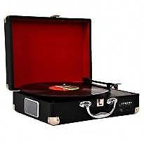 Lenoxx Portable Turntable USB SD Recorder Suitcase new
